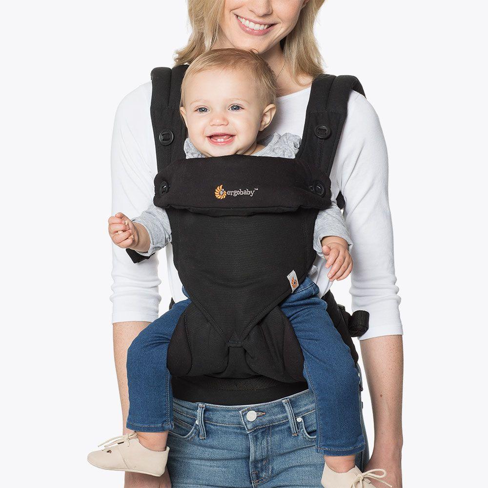 360-для ношения ребенка, все позиции для переноски Черный