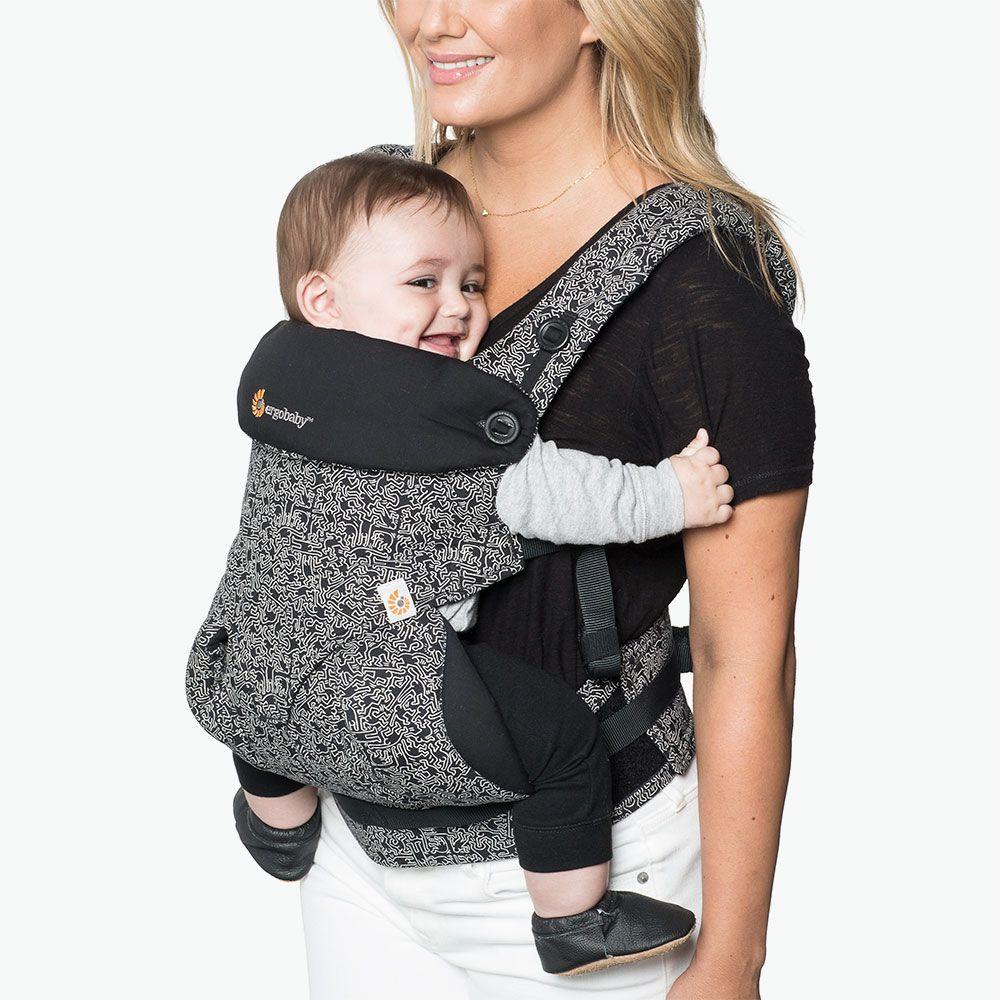 360-ношу ребенка, все позиции Special Edition Keith Haring ношу Черный