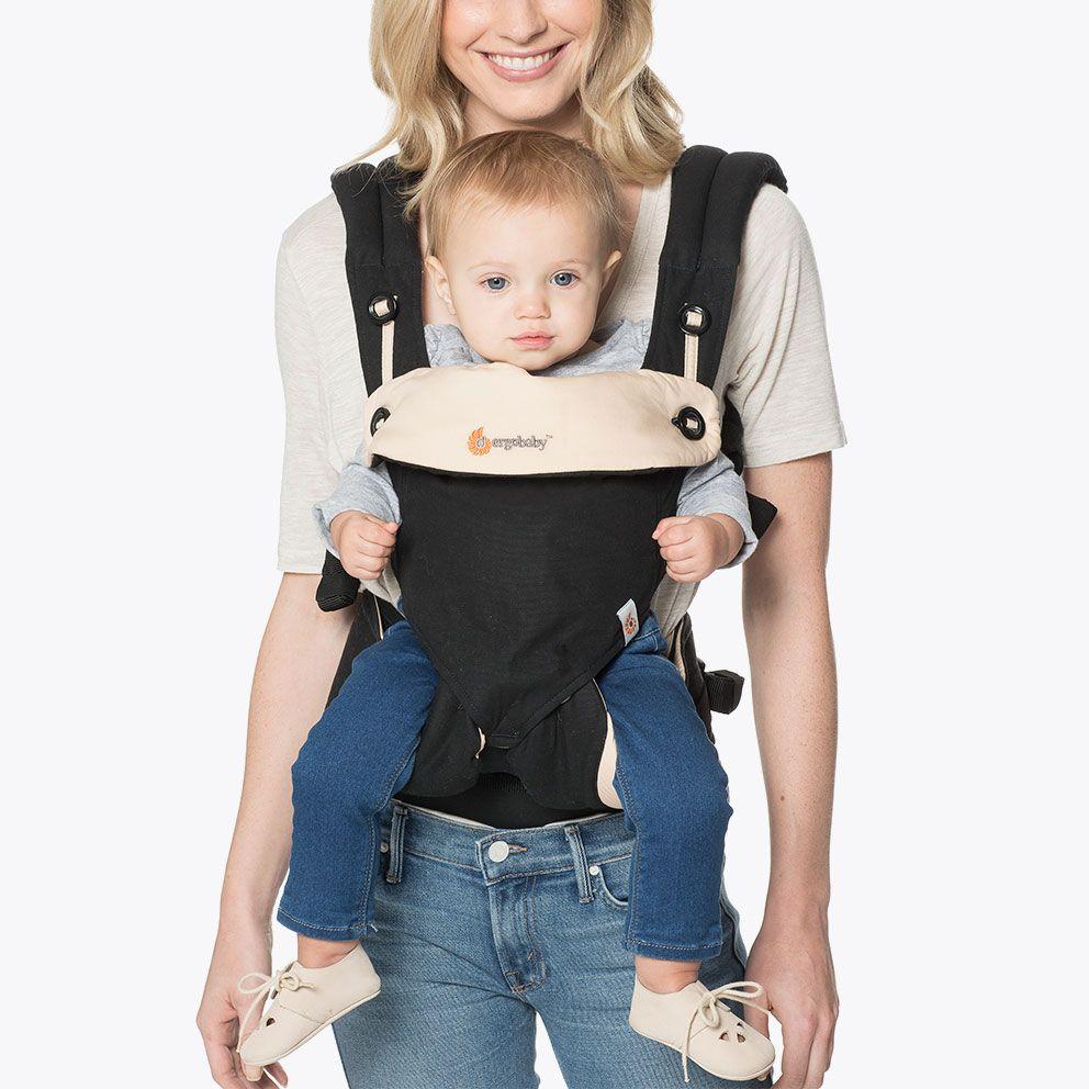 360-ношу ребенка, все позиции для переноски Черный/Бежевый