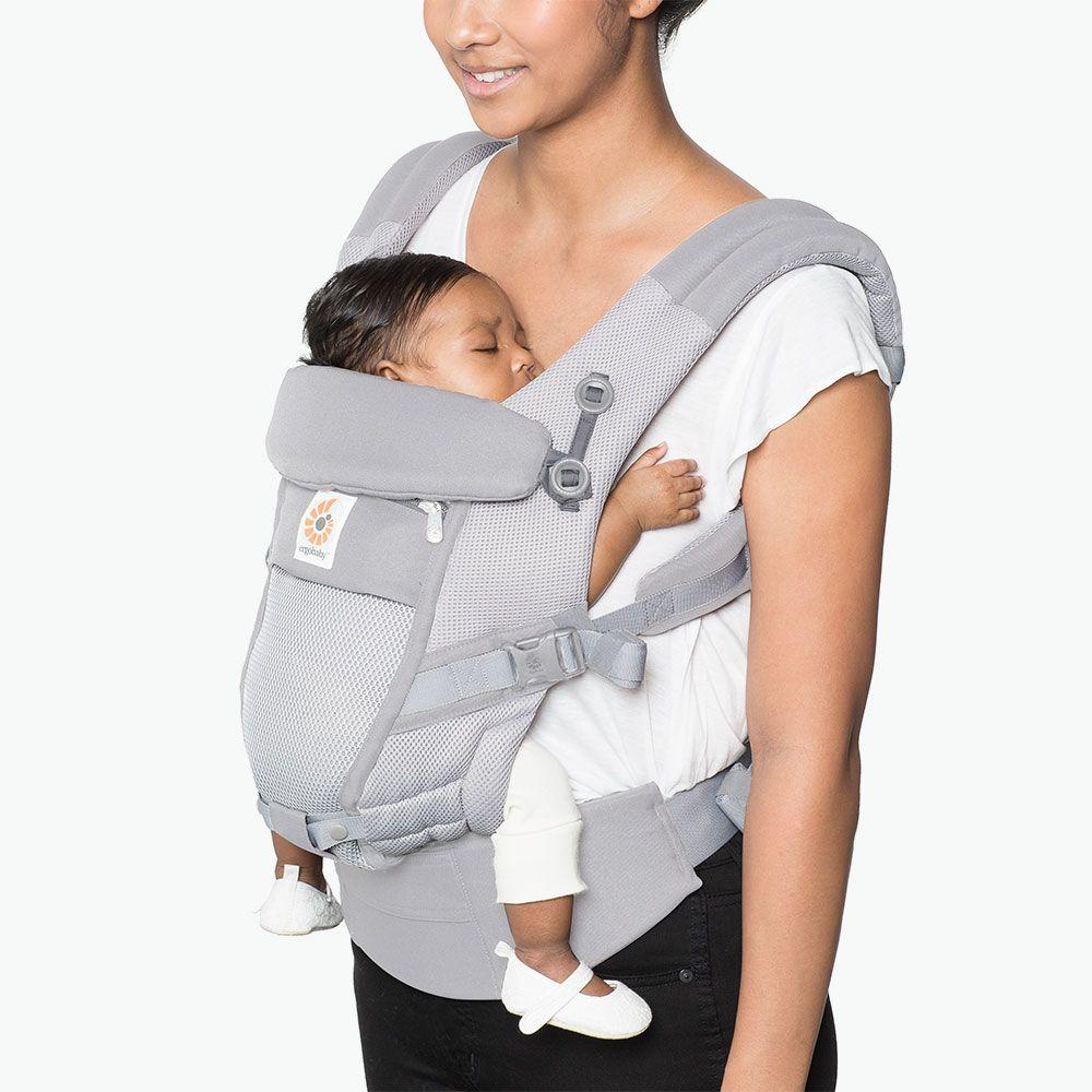 ADAPT Cool Air Mesh для ношения ребенка - жемчужно-серый