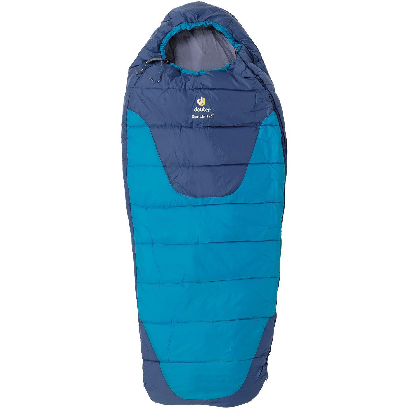 deuter детский спальный мешок большой, с удлинителем