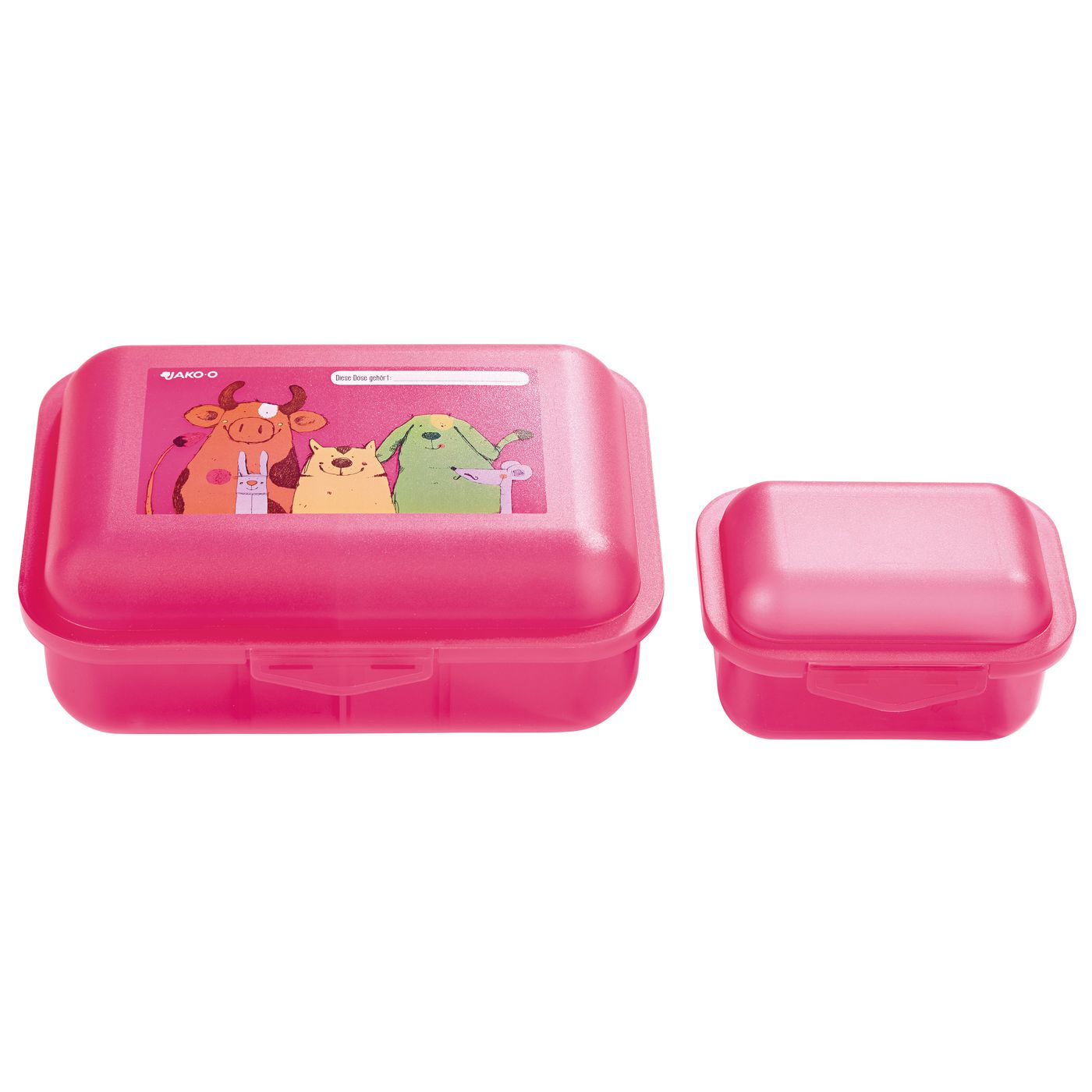 Дети коробка обеда JAKO‑O, с деление, 3 шт