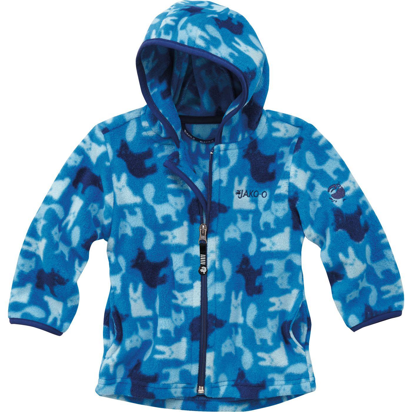Детская Флисовая Куртка С Капюшоном Мотив