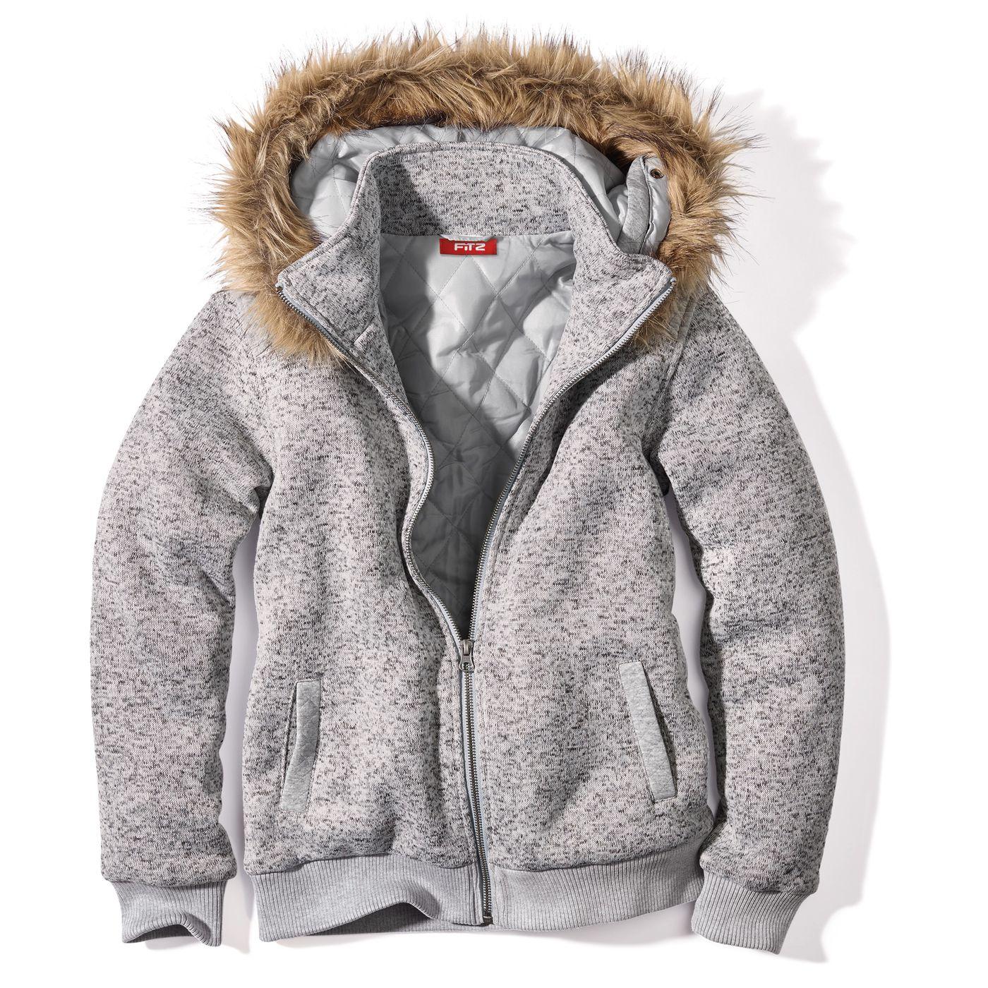 Девочки-куртка с капюшоном FIT‑Z
