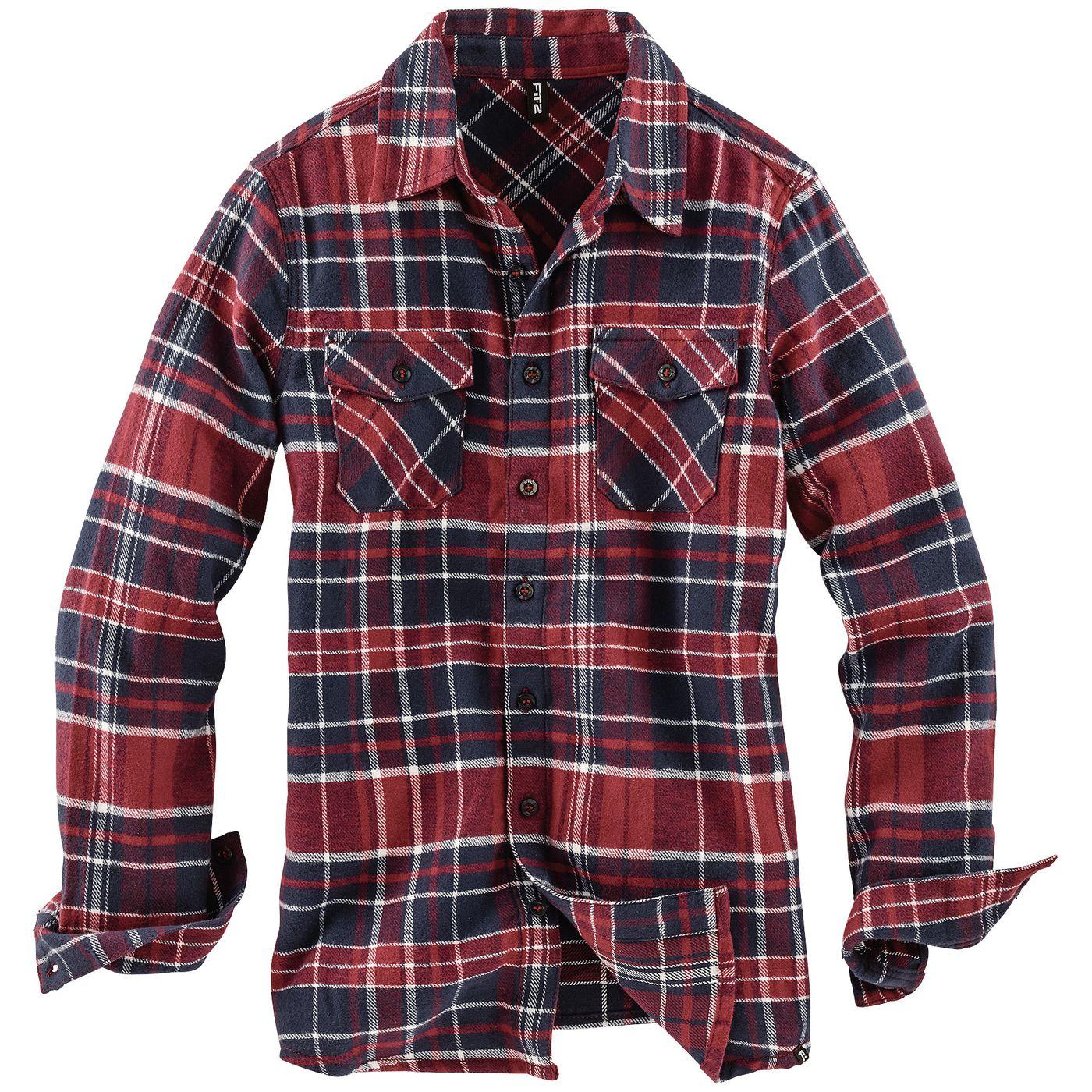Мальчиков фланели рубашка FIT‑Z