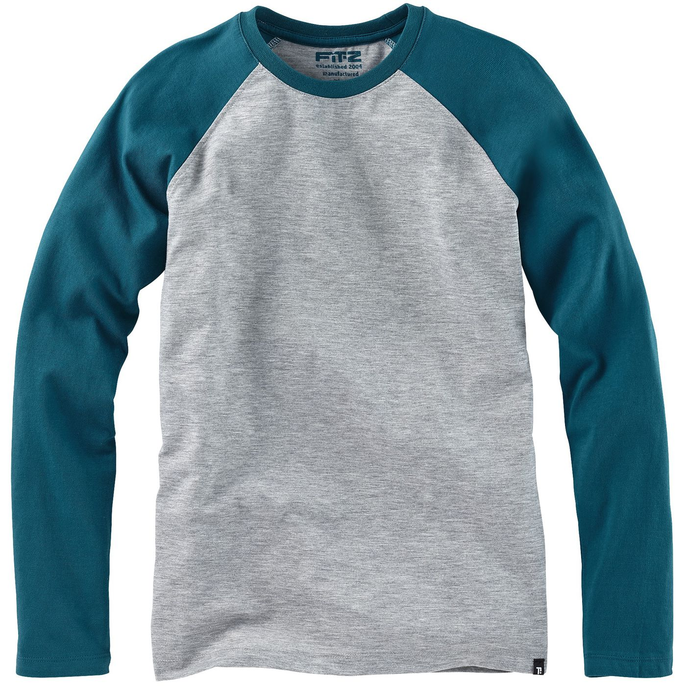 Мальчики длинный рукав Рубашки контраст FIT‑Z