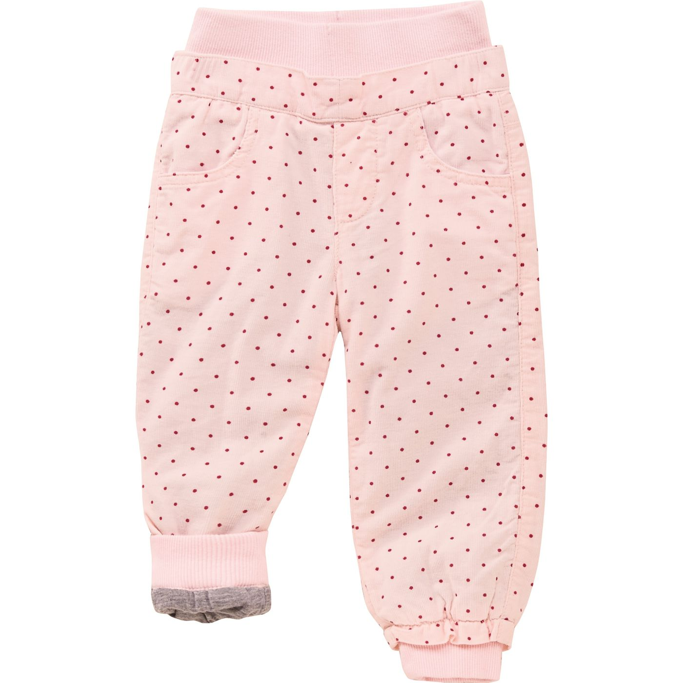 Детские вельветовые брюки на подкладке