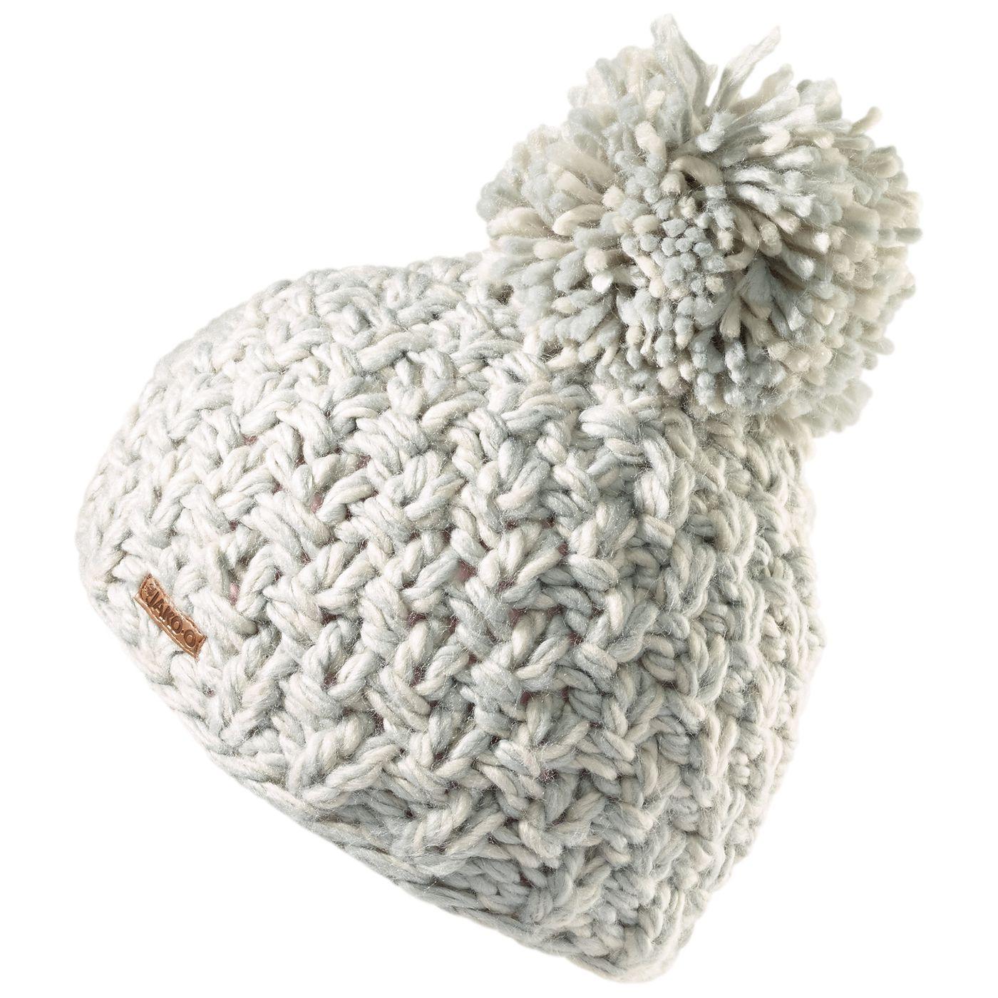 Детская зимняя шапка с помпоном