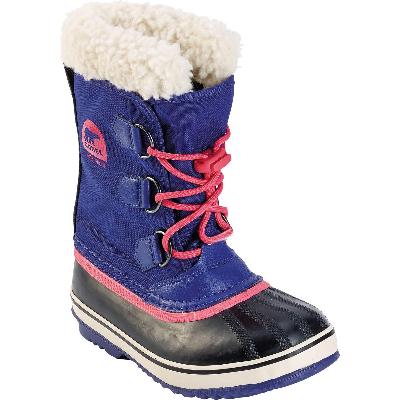 Детские зимние ботинки Sorel Yoot pac Nylon