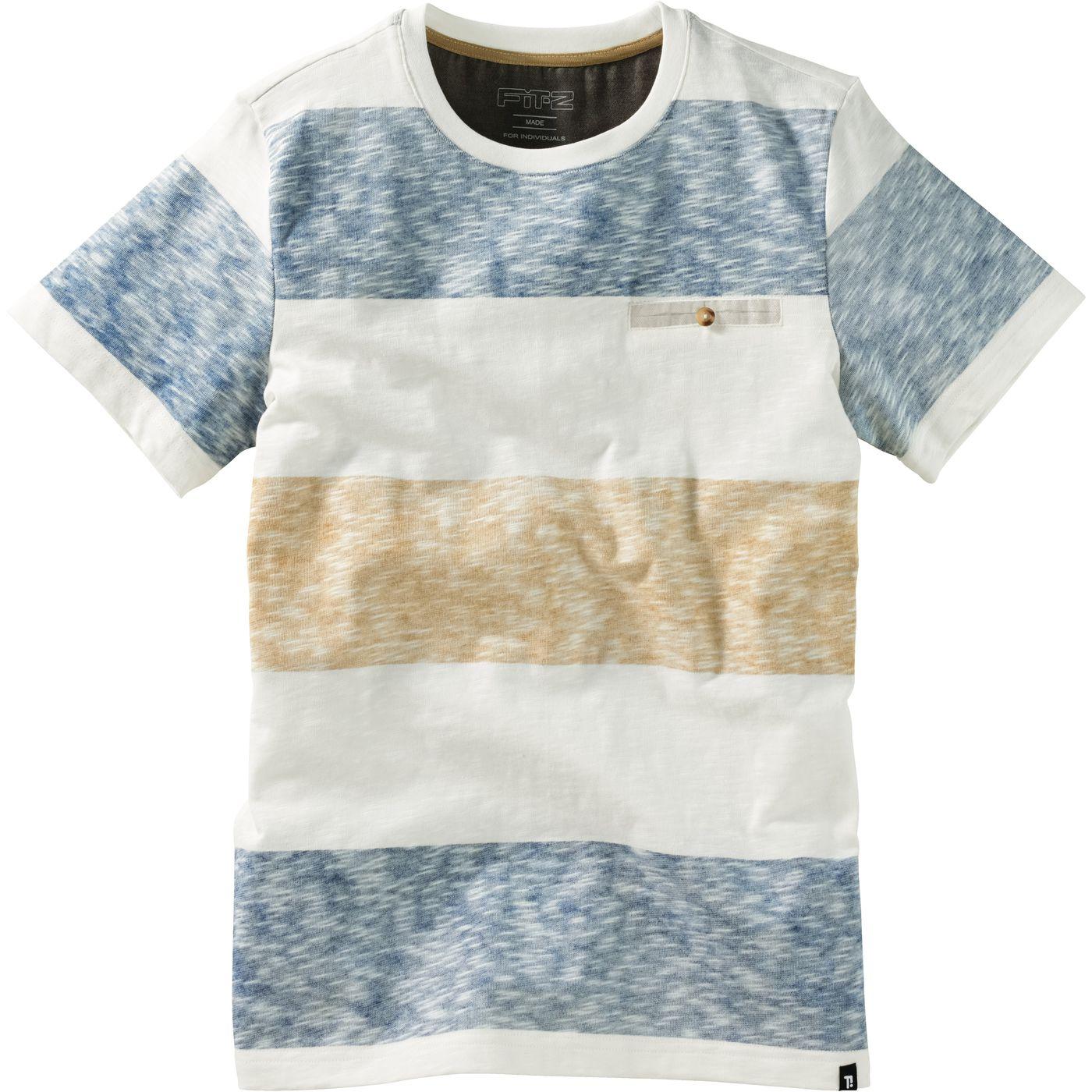 Мальчики T-Рубашки блока прокладка FIT‑Z