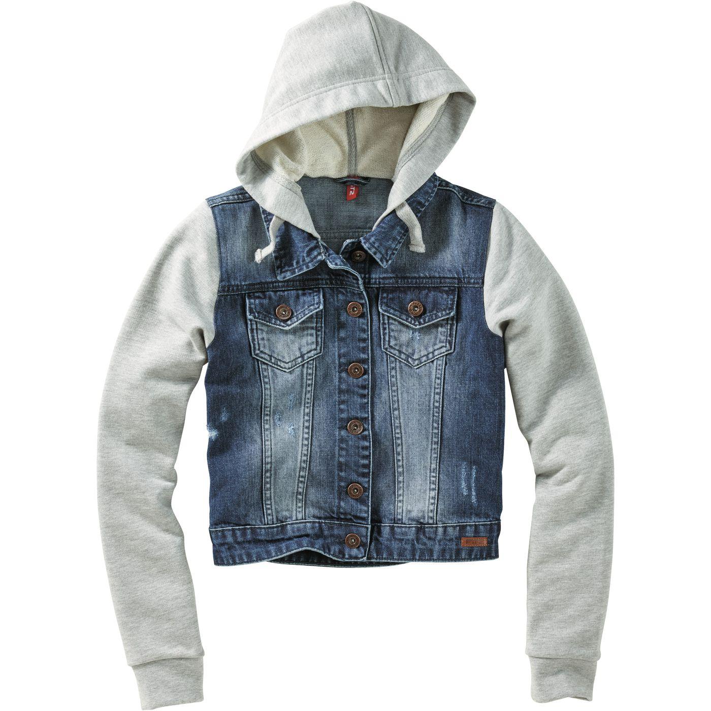 Девочки-джинсы-спортивная куртка FIT‑Z