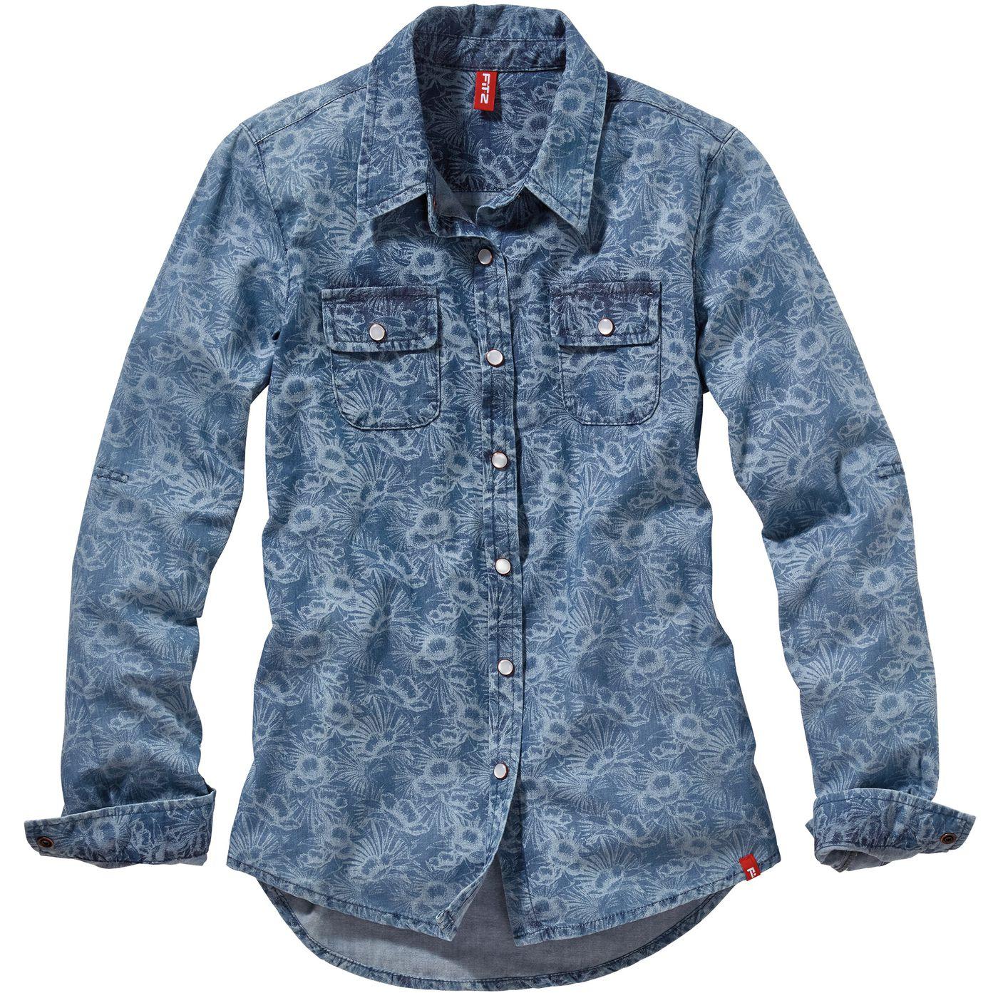 Девочки джинсы рубашка FIT‑Z