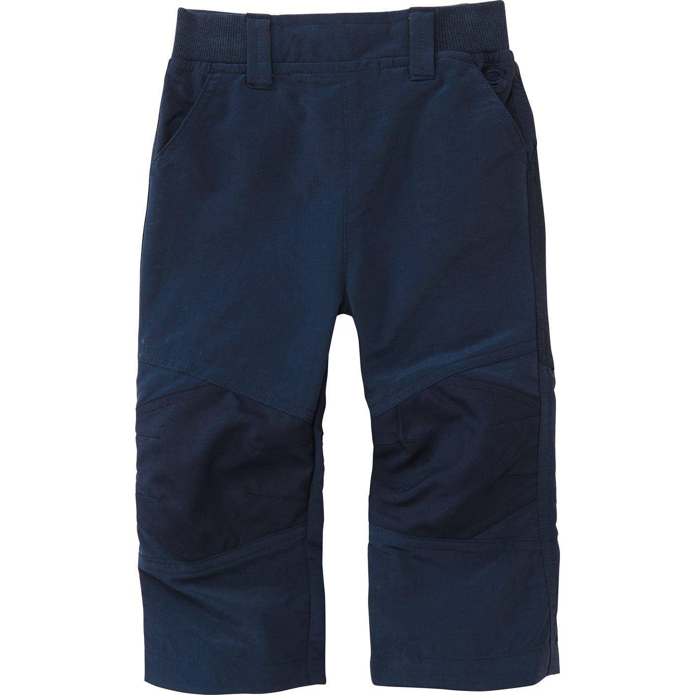 Детские функциональные брюки с трикотажные манжеты