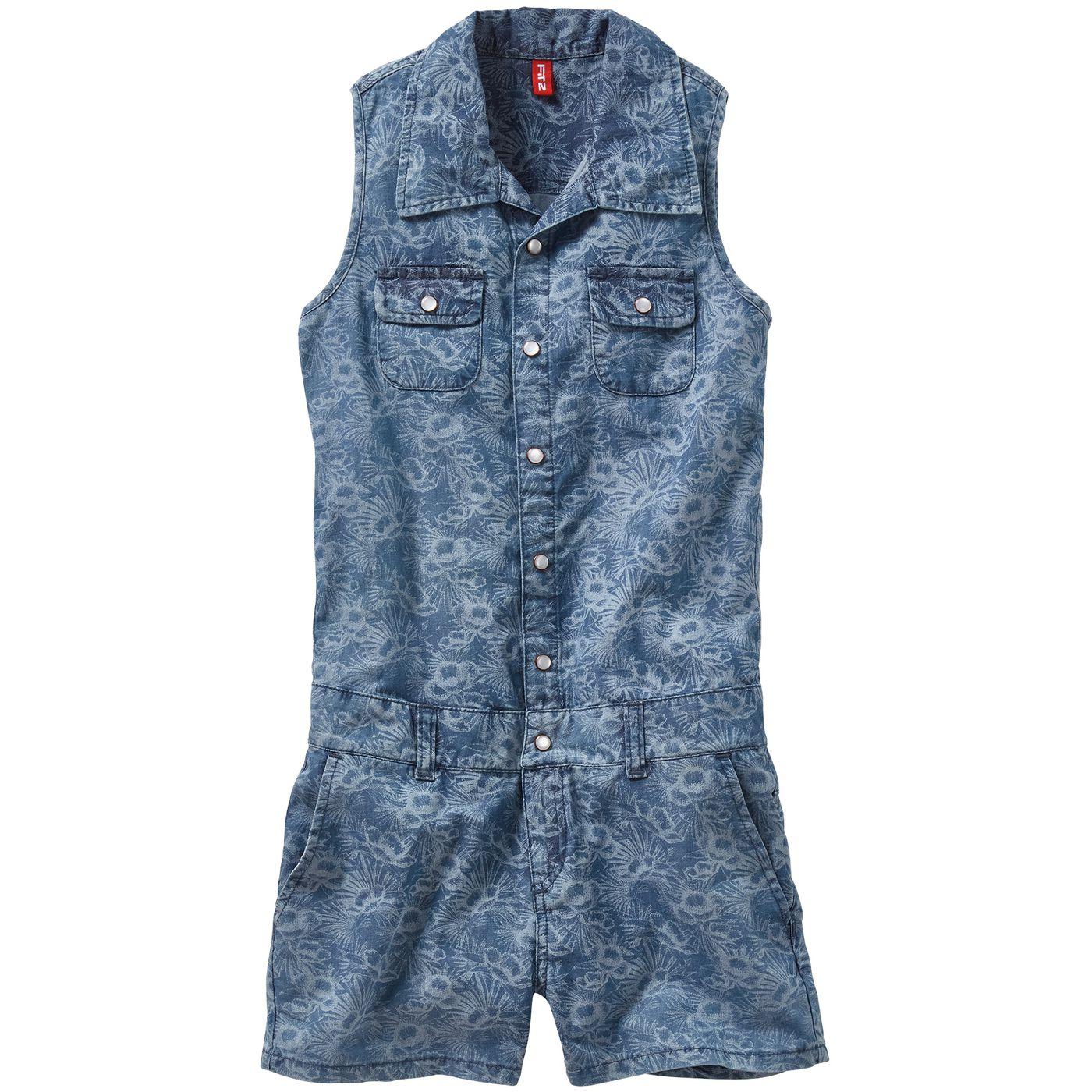 Девушка джинсы комбинезон FIT‑Z