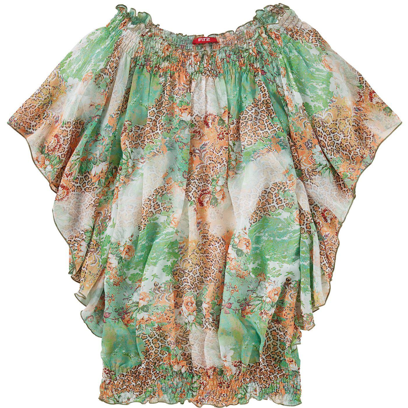 Девочки-блузка FIT Allover‑Z