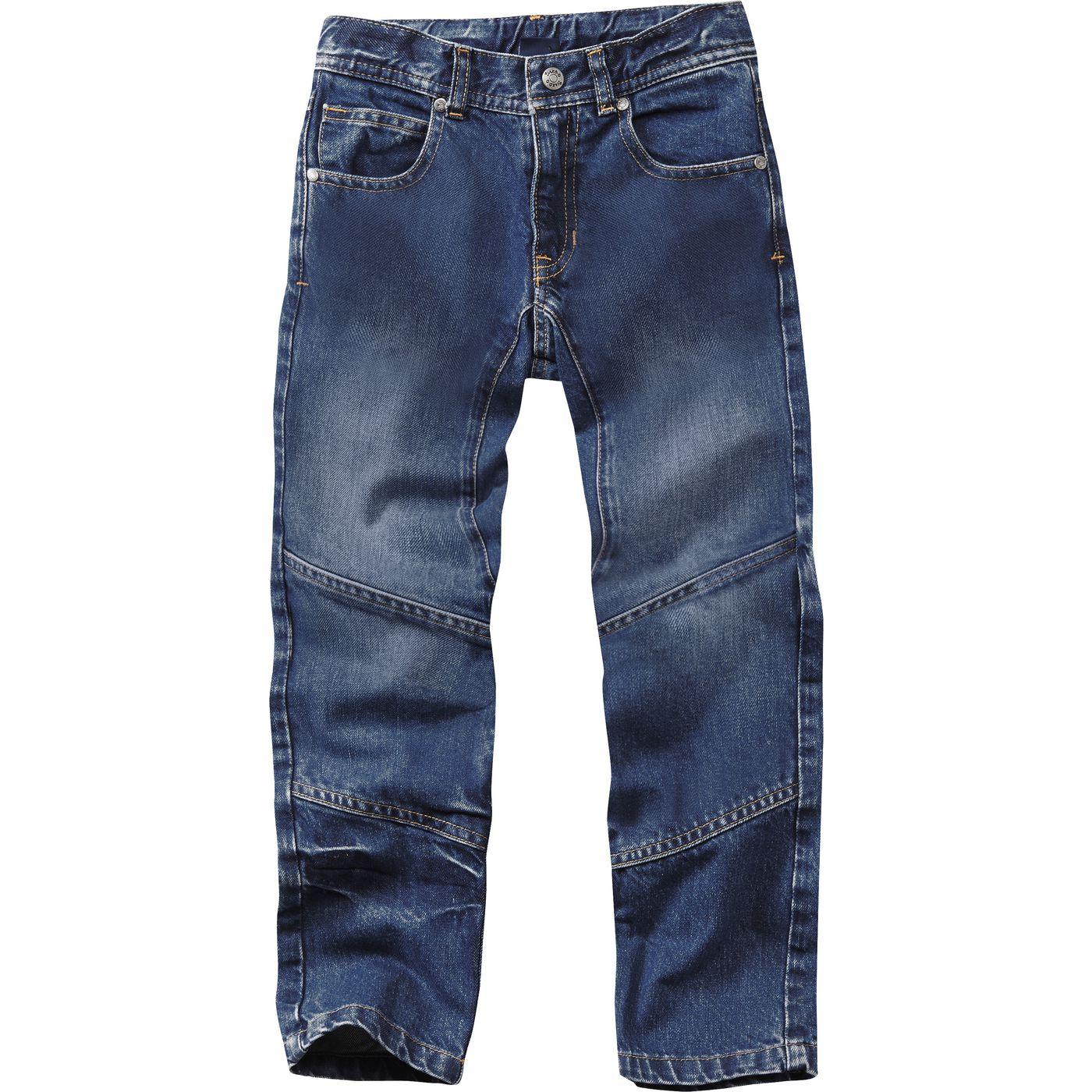 Детские джинсы двойные колени широко