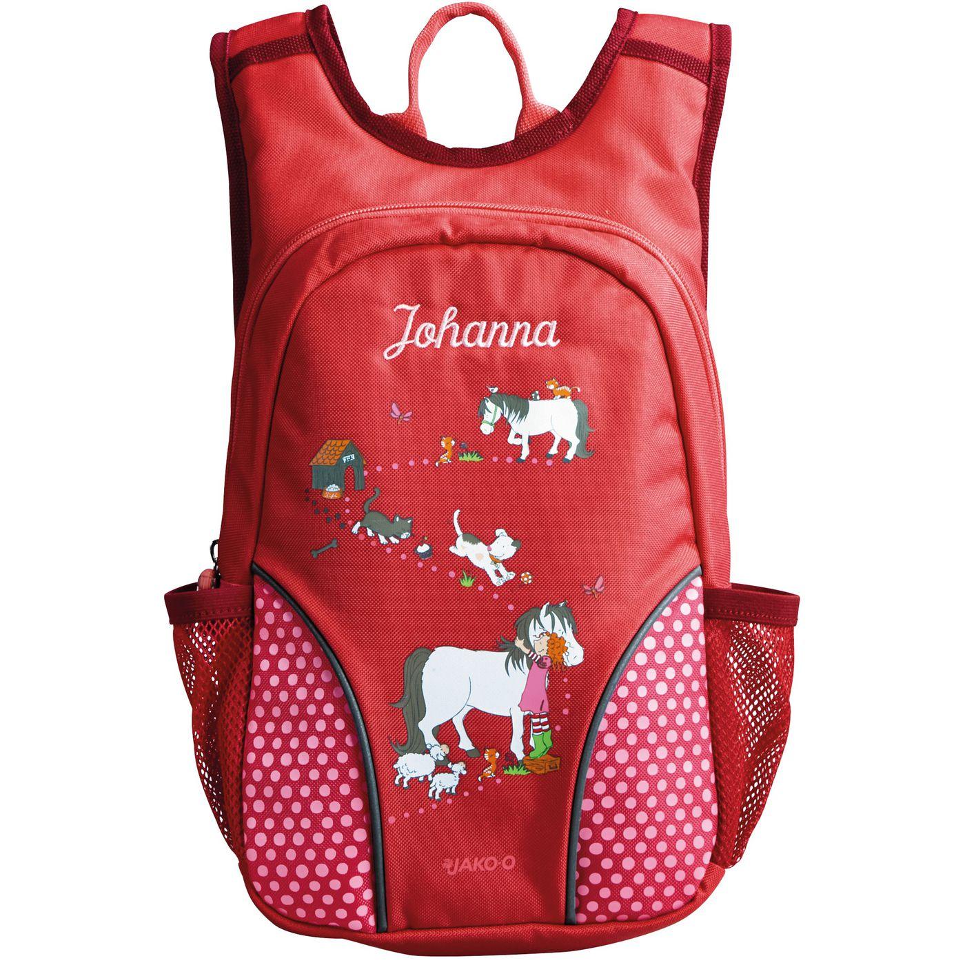 Kita-рюкзак с именем JAKO‑O
