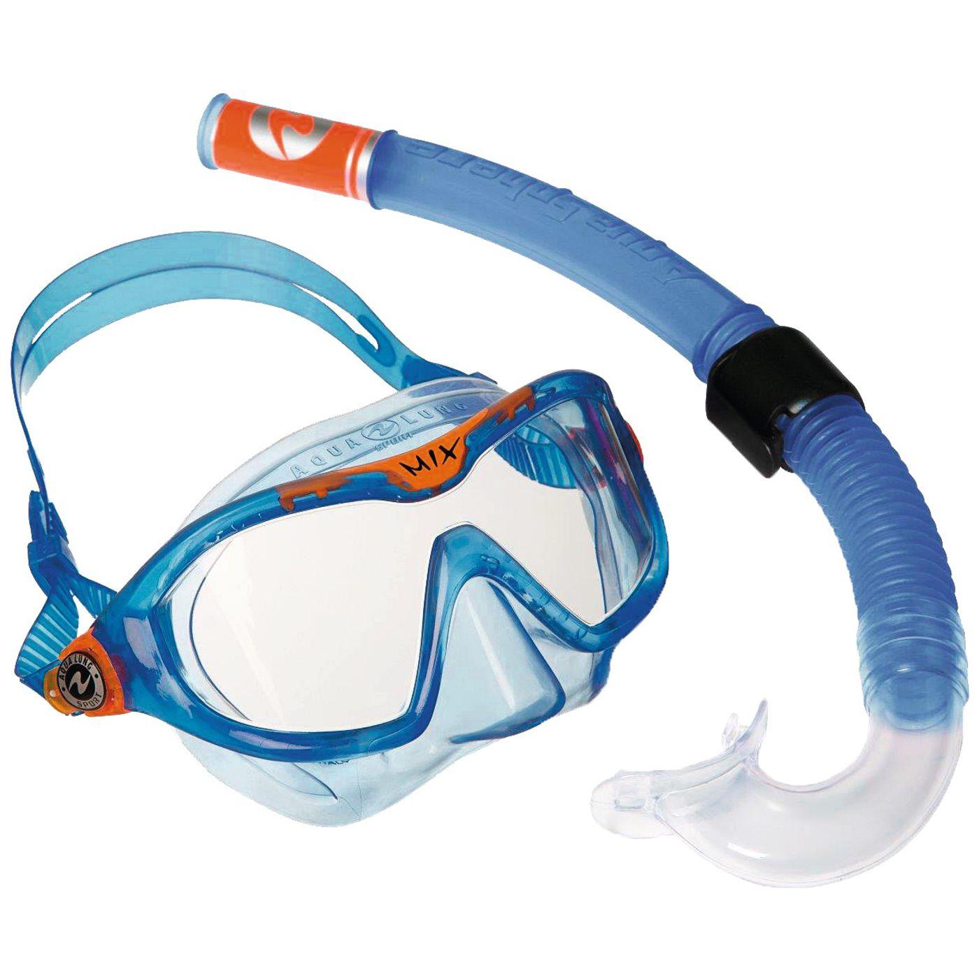 Aqua Lung маска для плавания Детская с трубкой