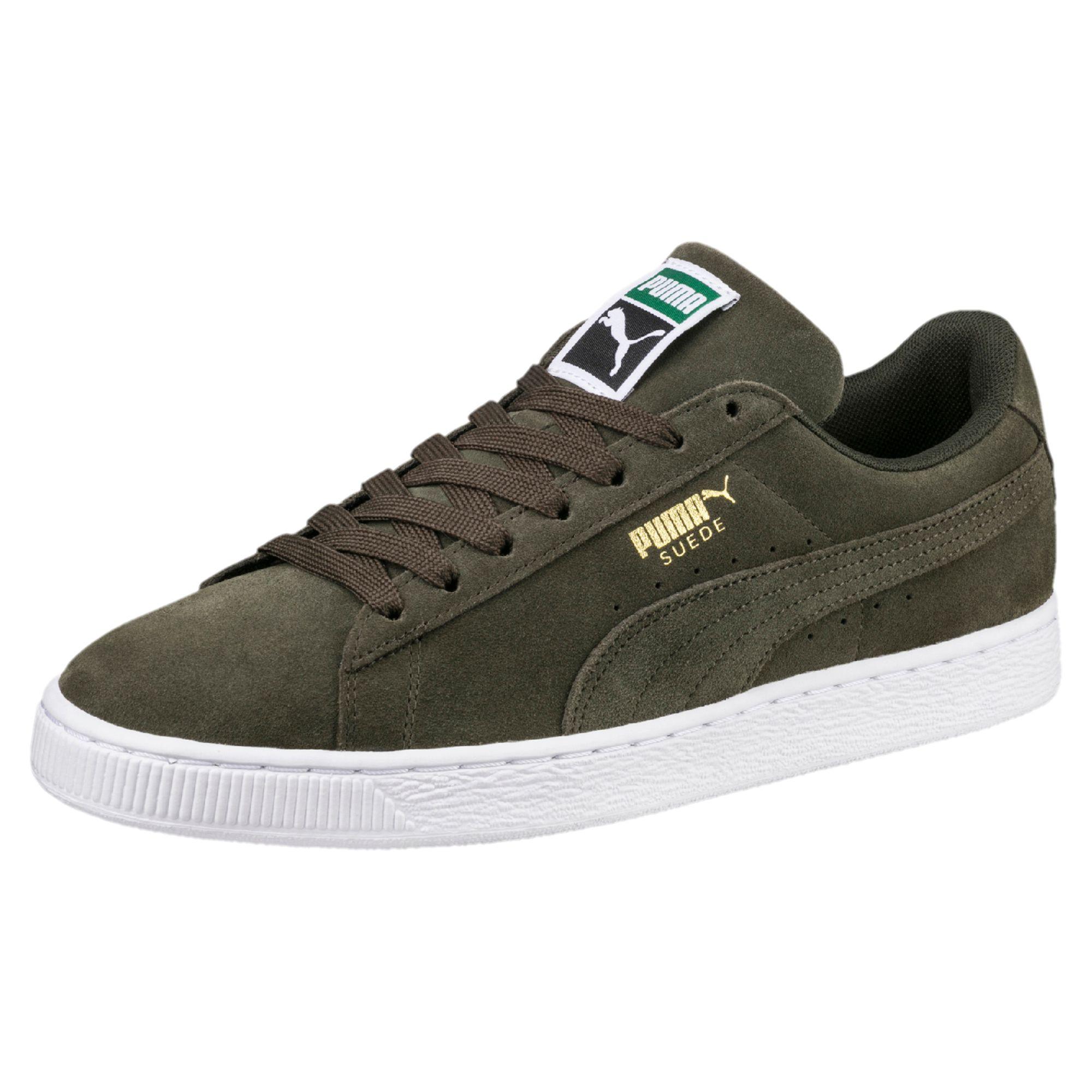 Classic+ Suede Sneaker