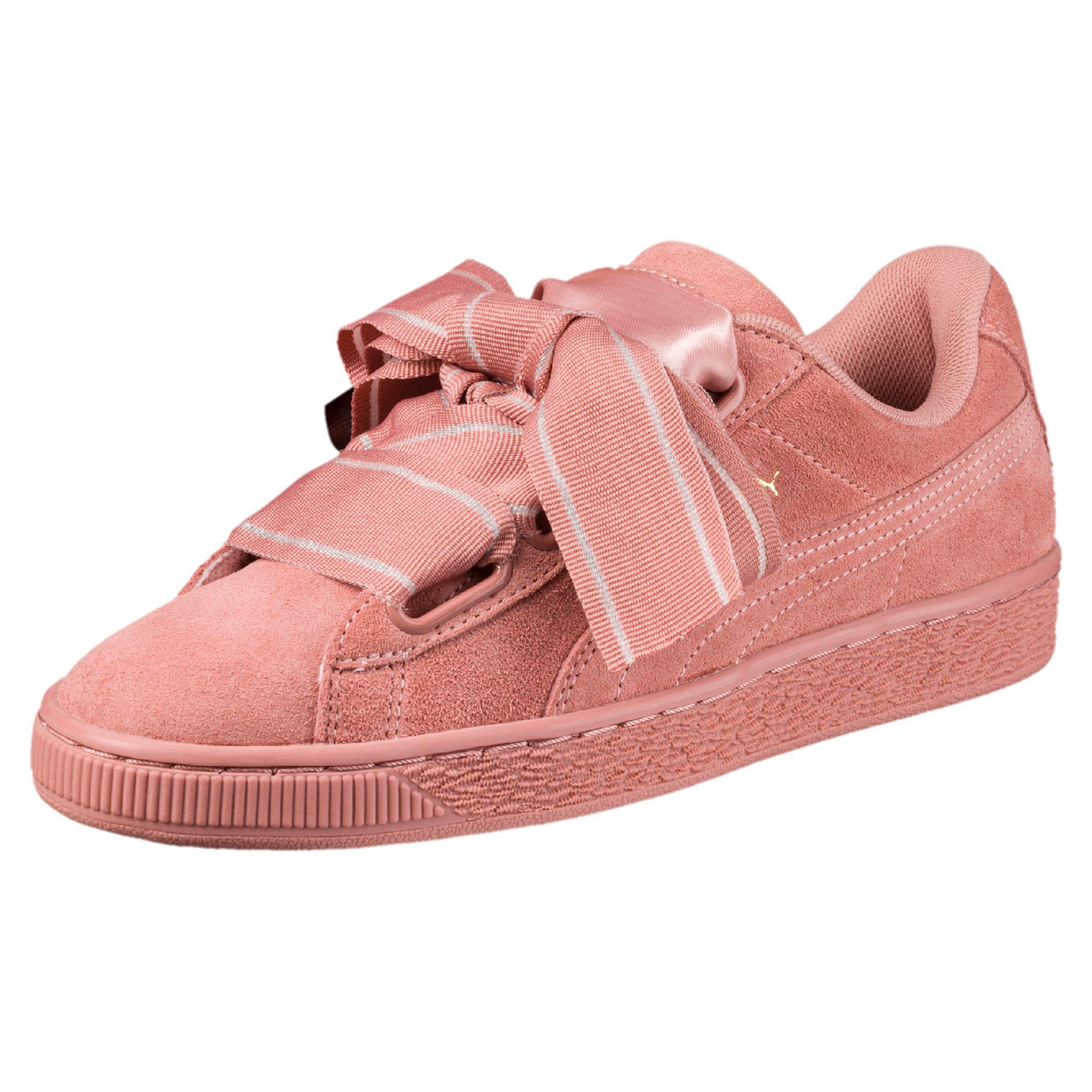 Suede Satin Heart II женские кроссовки