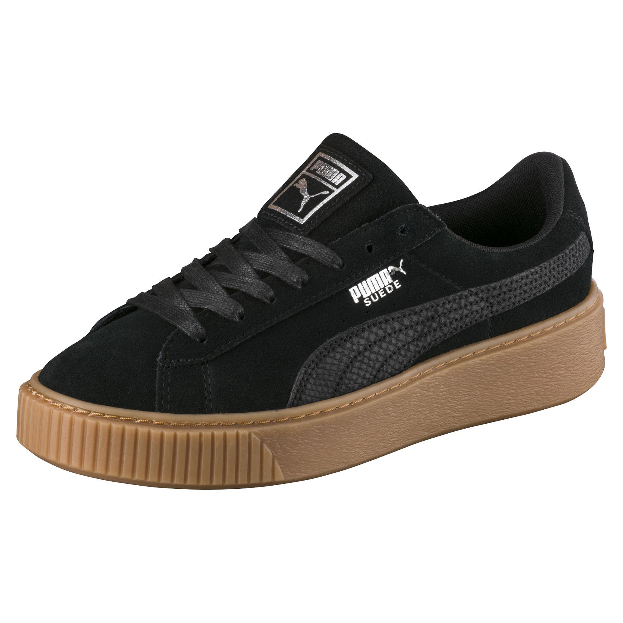Suede Platform Женская Animal Sneaker