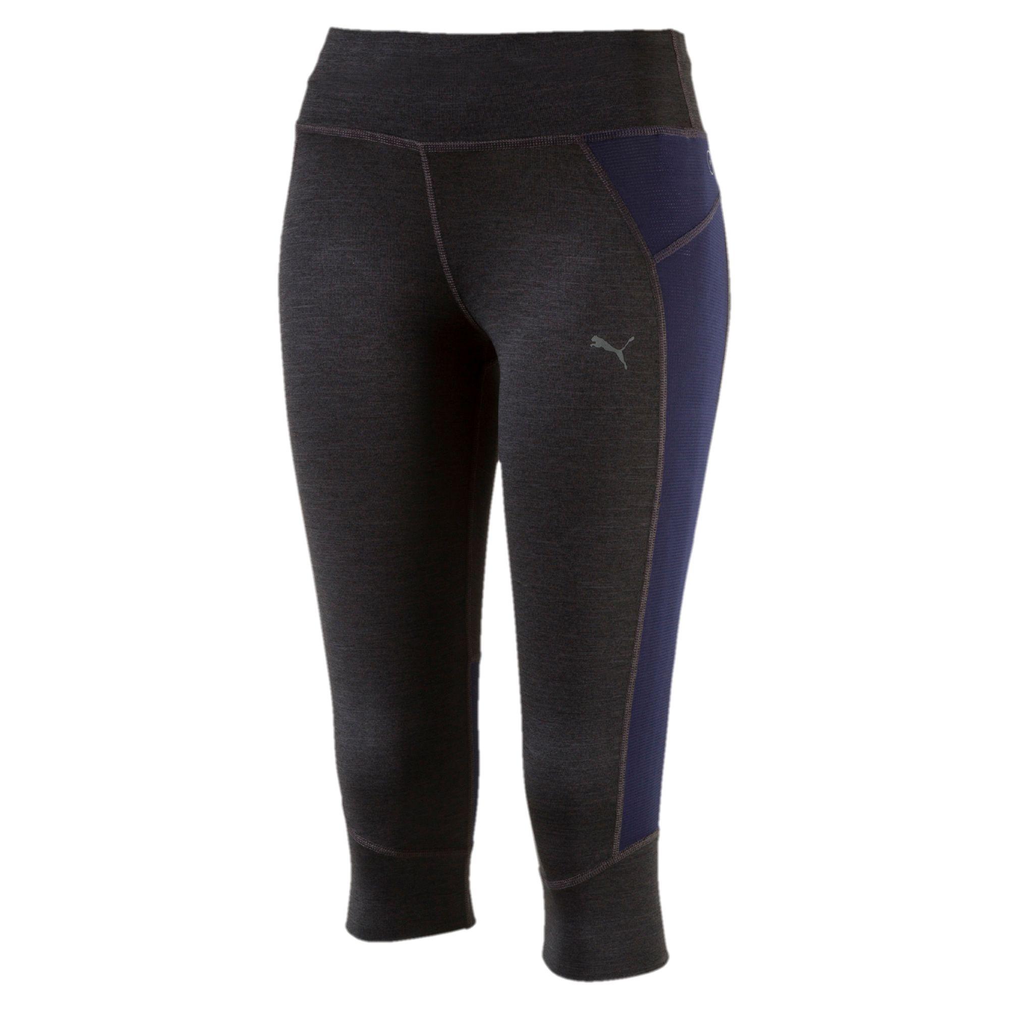 Работает женская PWRCOOL Speed 3/4 беговые брюки