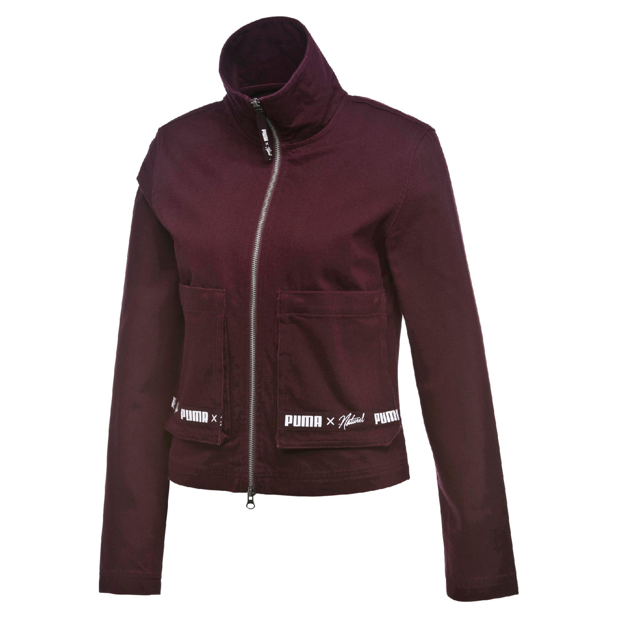 PUMA x NATUREL женские джинсы куртка