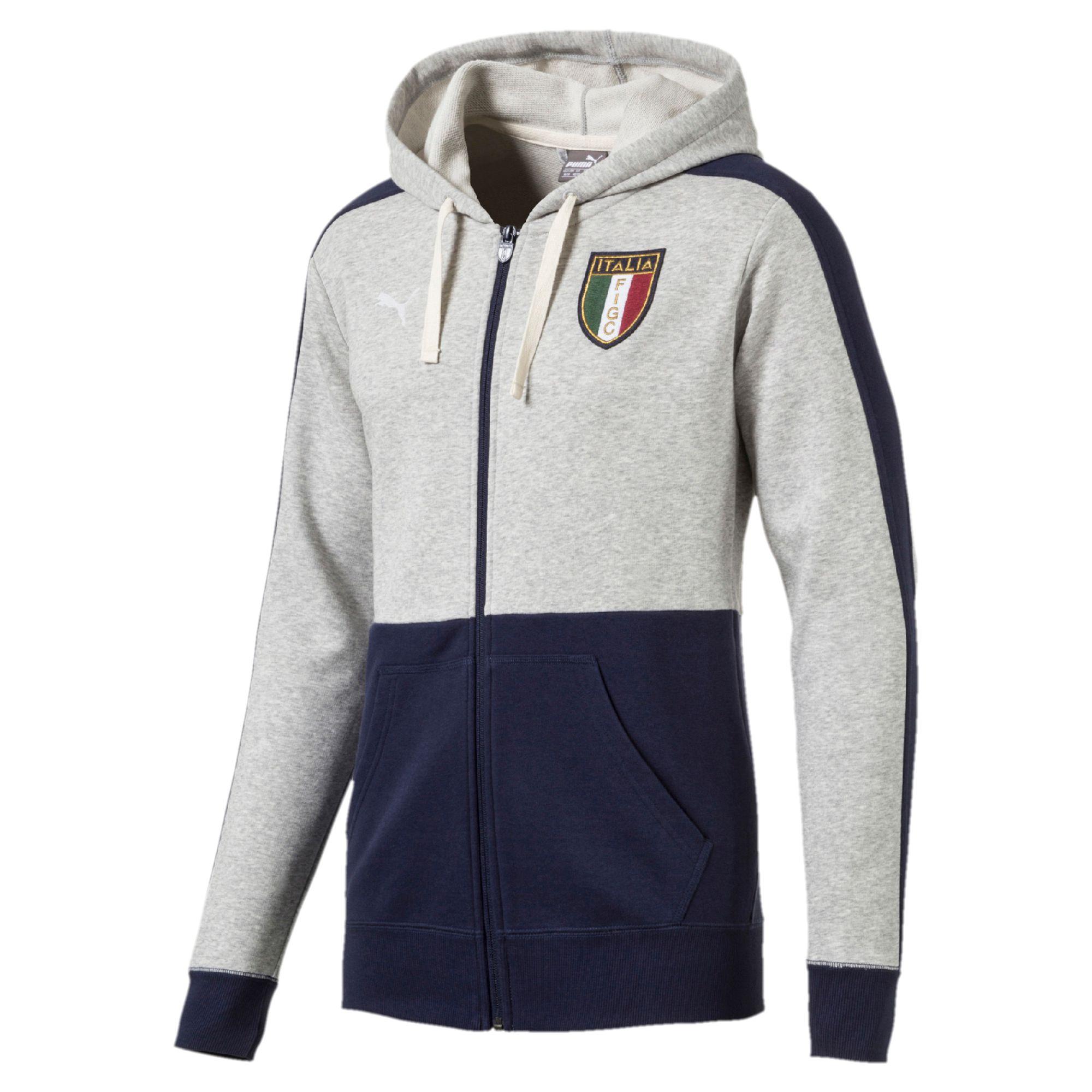 Italia Azzurri Куртка С Капюшоном