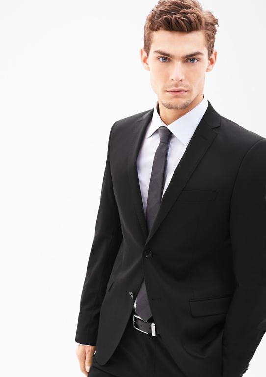 Козимо Slim: пиджак с матовой структурой