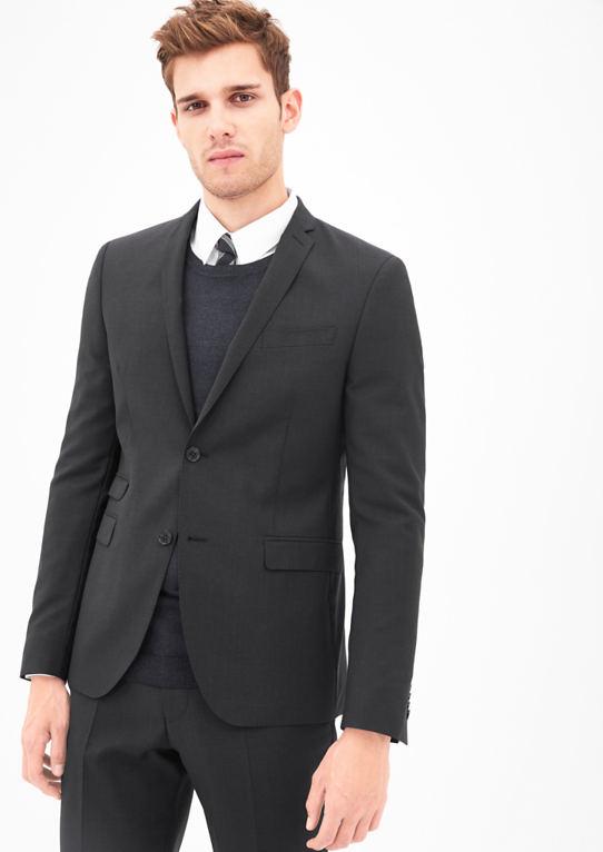 Чезано-Slim: пиджак из шерсти