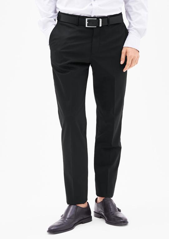 Козимо Slim: брюки с матовой структурой