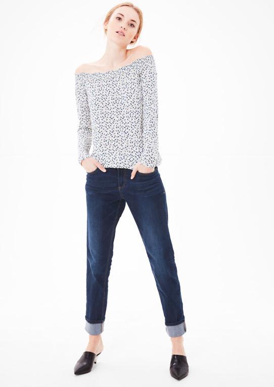 Smart Straight: джинсы на пуговицах
