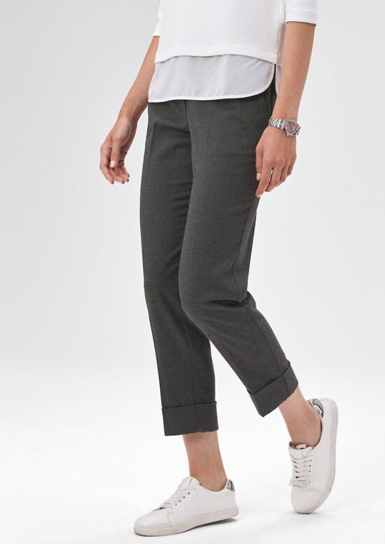 Melierte фланелевые брюки с конверт