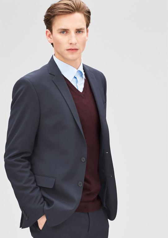 Slim: пиджак с глинистой полосы