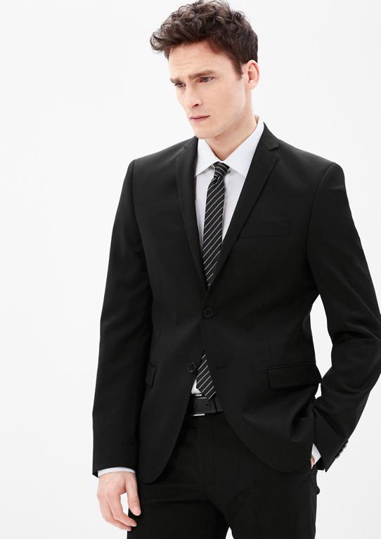 Slim: пиджак с узким отворотом