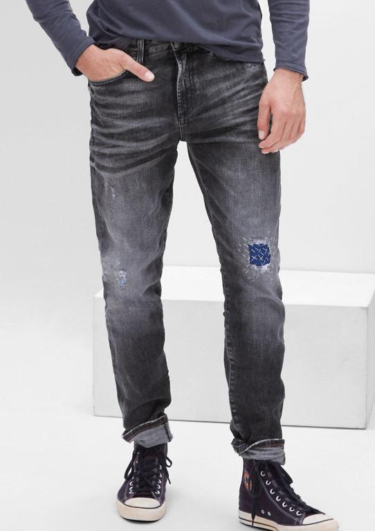 Курт Стрейт: Повседневная Used-Jeans