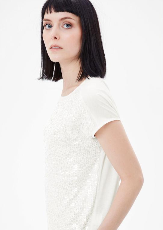 Гламурный Блестками Рубашка