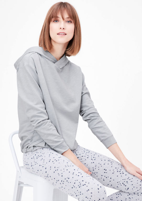 Loungewear-толстовка с капюшоном