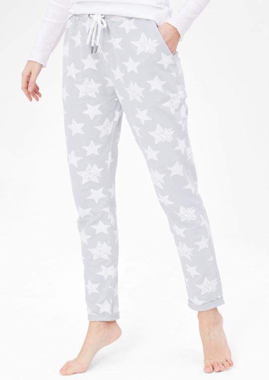 Loungewear брюки со звездами
