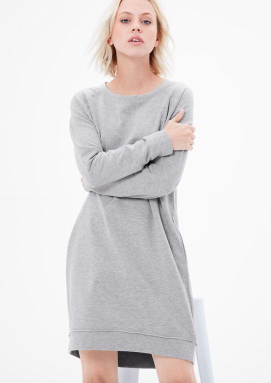 Стрейчевое платье из sweat товар