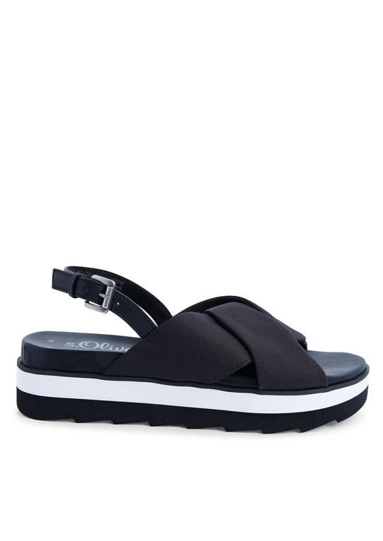 Плато-sandalen в ЧБ