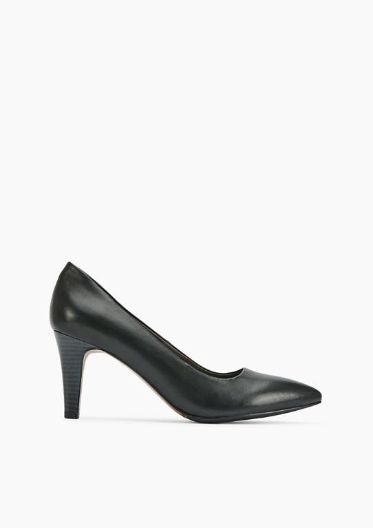 Кружево туфли-лодочки из кожи