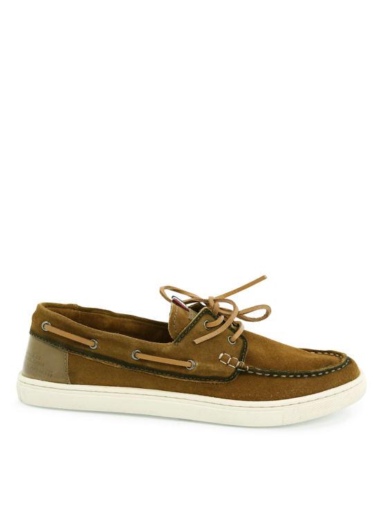 Кожаная обувь в мокасины-Вид