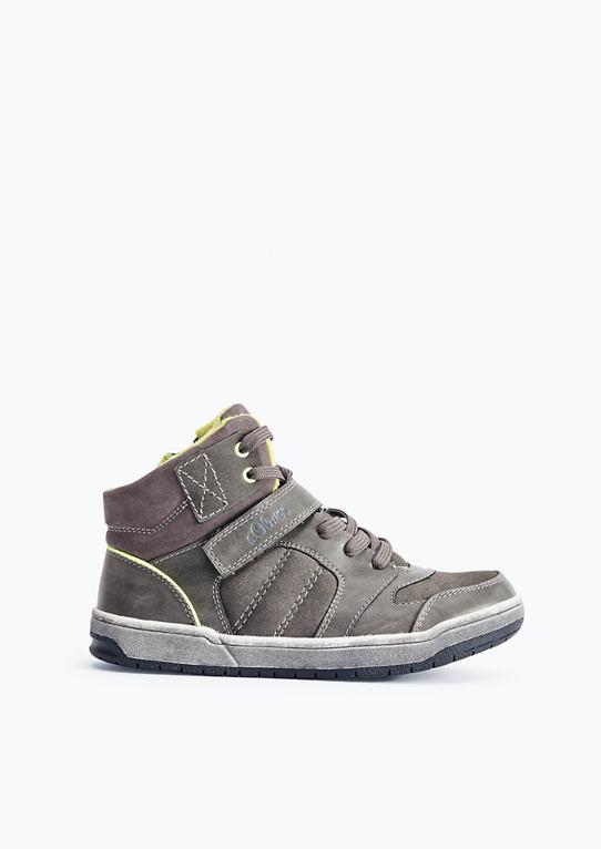 Высокие кроссовки Неон-детали МИТ