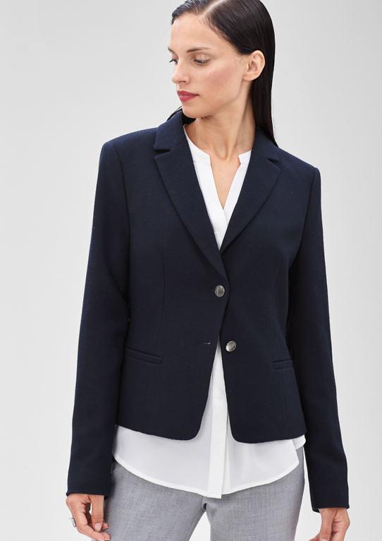 Пиджак со структурным узором