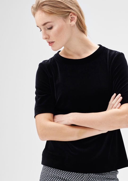 Праздничный Velvet-Shirt