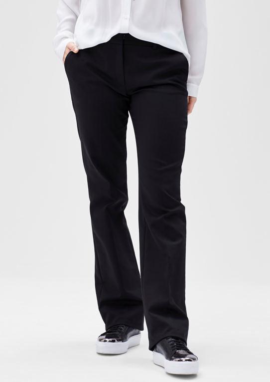 Бизнес брюки с прямыми штанинами