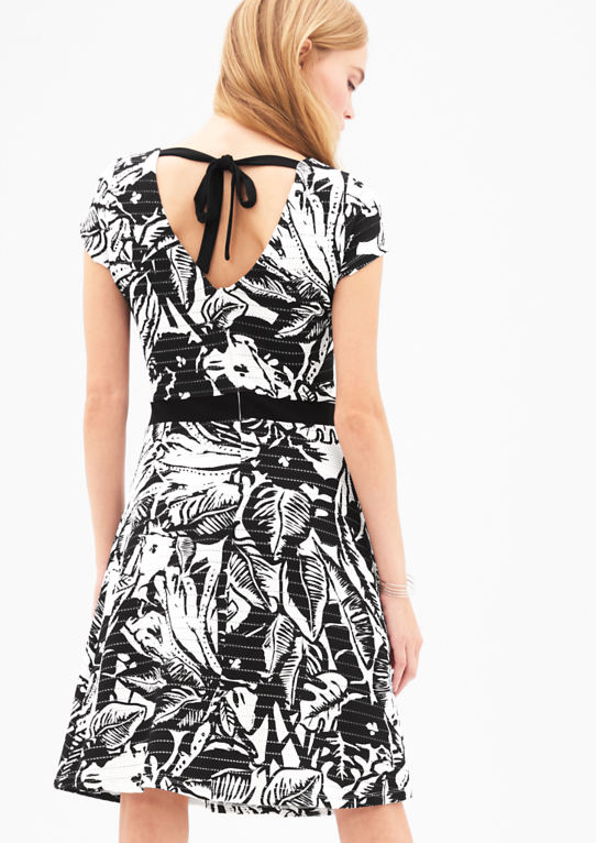 Платье с Ajour-узор