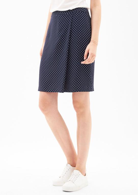 Креп юбка с пеленальным оптики
