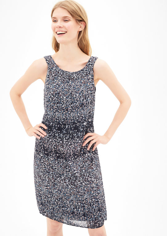 Платье из нежно-шифон